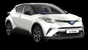 Mietwagen Toyota C-HR Hybrid - Autovermietung Teneriffa. Red Line Rent a Car Tenerife.