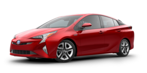 Mietwagen Toyota Prius Hybrid Automatik - Autovermietung Teneriffa. Red Line Rent a Car Tenerife.