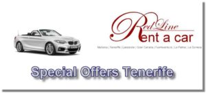 Car Rental Special offers from the car rental Red Line Rent a Car Tenerife