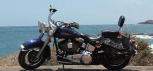 Harley-Davidson Vermietung Teneriffa Heritage Softail