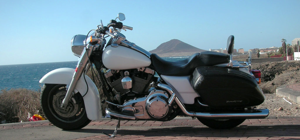 Harley-Davidson rental Tenerife Road King