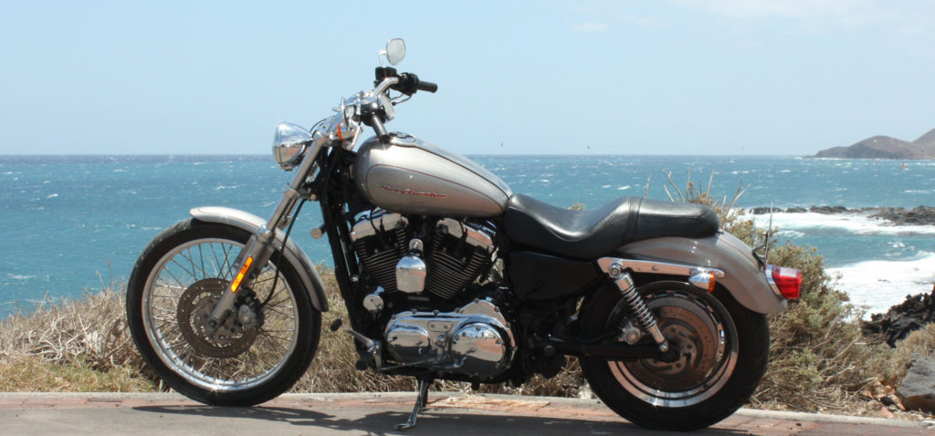 Harley-Davidson Vermietung Teneriffa Harley-Davidson Sportster Custom 1200