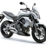 Teneriffa Motorrad-Vermietung Kawasaki ER-6n 35 kW (FS A2)