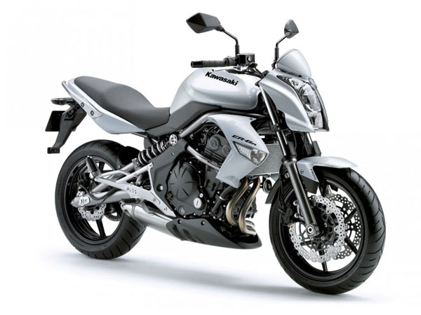 Kawasaki Motorrad-Verleih Teneriffa Kawasaki ER-6n 53 kW
