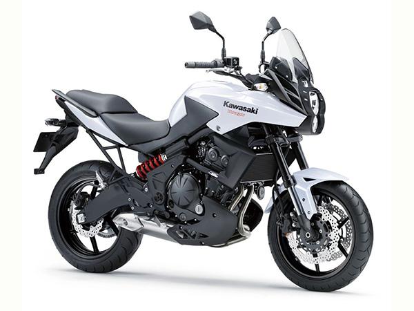 Kawasaki Motorrad-Verleih Teneriffa Kawasaki Versys low seat