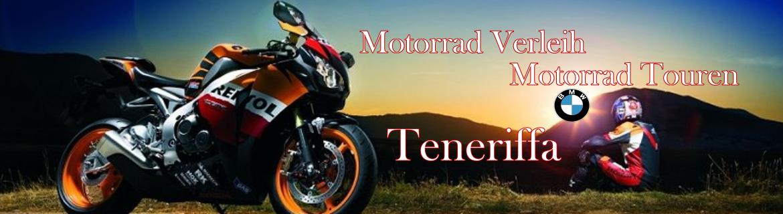 BMW Motorradvermietung und Touren auf Teneriffa