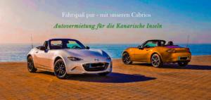 Cabrio-Vermietung Teneriffa - Mietwagen Kanarische Inseln