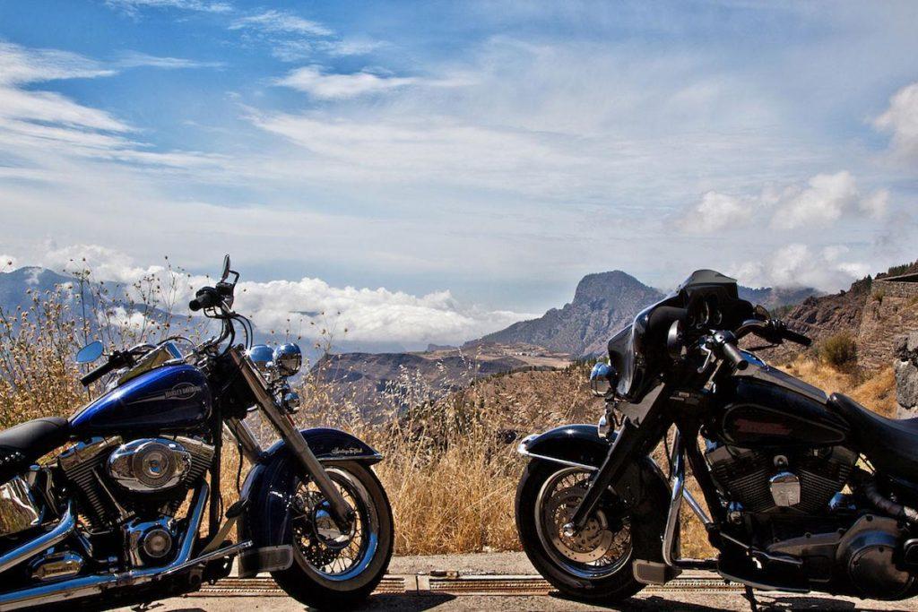 Teneriffa Motorrad-Verleih Harley Davidson
