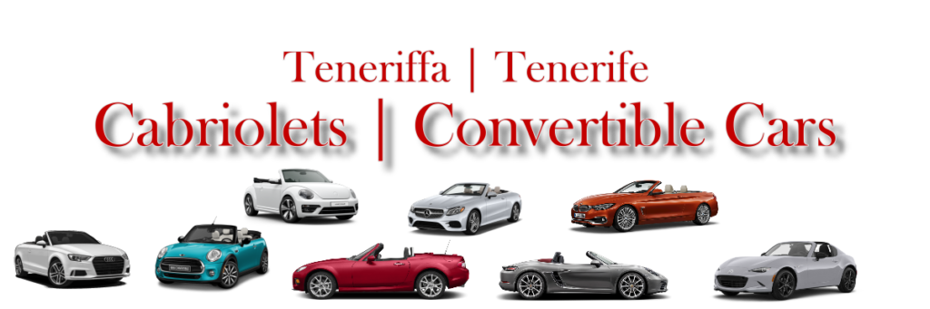 Convertible Car Rental Tenerife Cabriolet Car Rental Tenerife Red Line Rent a Car Tenerife