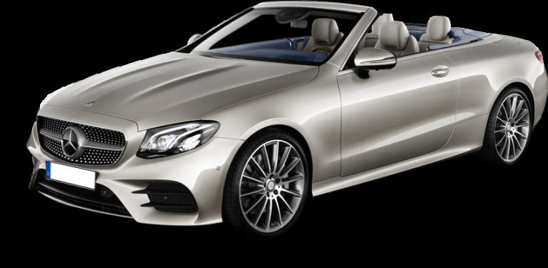 Luxus Cabrio Mietwagen Mercedes E Cabrio Automatik Autovermietung Teneriffa - Car Rental Tenerife